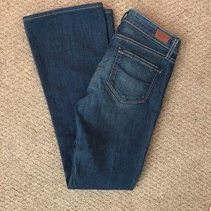 Paige Denim Skyline Boot Petite Jeans Size 25